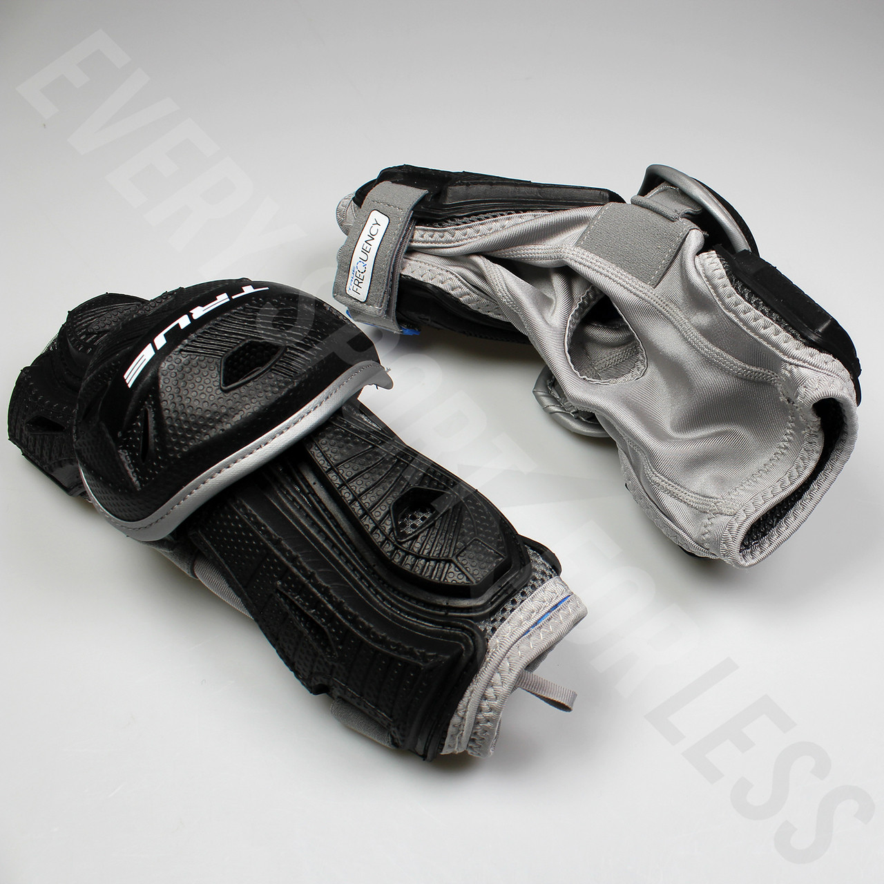 True Frequency Men's Lacrosse Arm Guard - Black