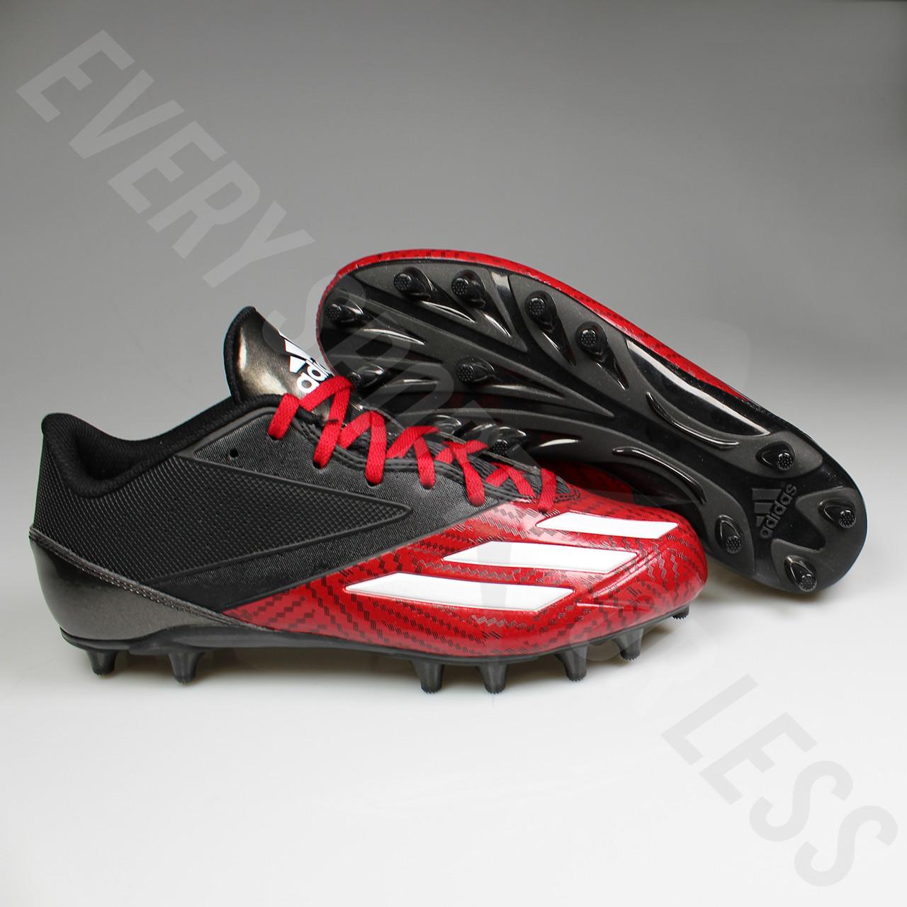 19ebcb1be87 ... Adidas Adizero 5-Star Low Football Lacrosse Cleats D70176 - Black