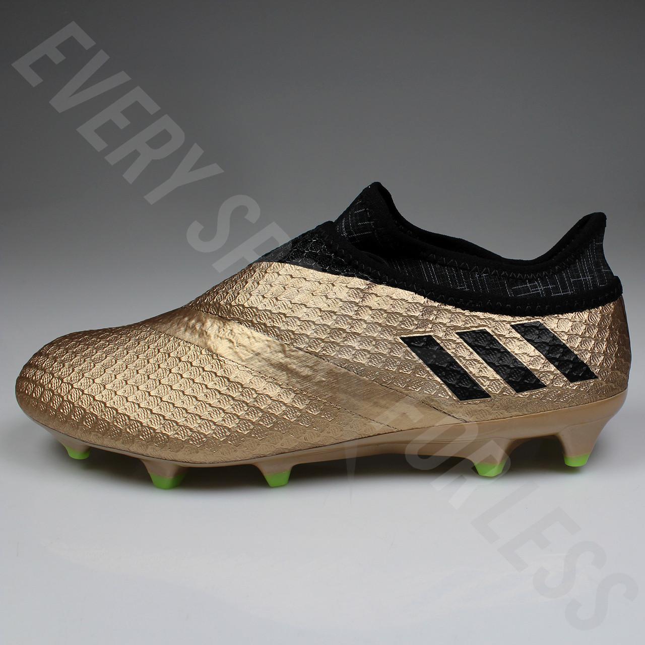 new product 87928 72e2b ... Adidas Messi 16+ Pureagility FG Mens Soccer Cleats BA9821 - Black,  Copper ...