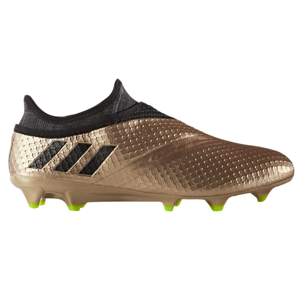 new product 72694 49f1d Adidas Messi 16+ Pureagility FG Mens Soccer Cleats BA9821 - Black, Copper  ...