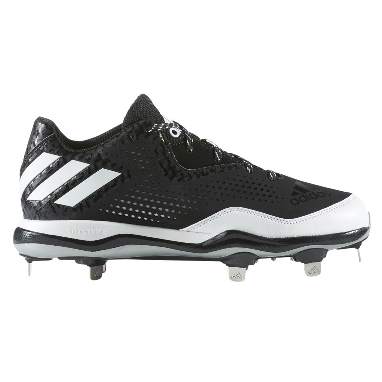 499315ebe Adidas Power Alley 4 Low Men s Metal Baseball Cleats Q16481 - Black