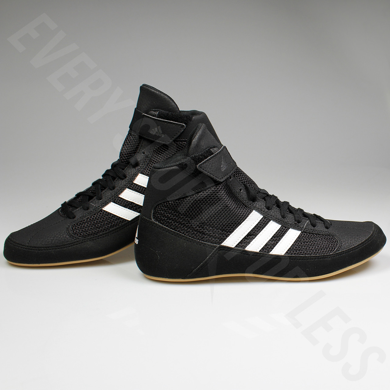 best cheap 0d6a1 8c97d ... Adidas HVC 2 Mens Wrestling Shoes AQ3325 - Black   White