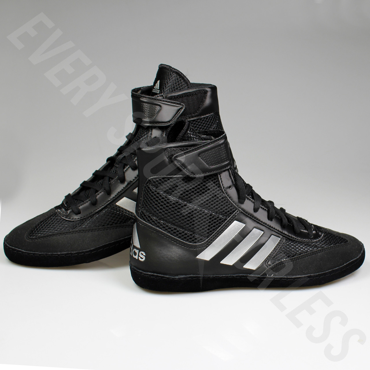 ... Adidas Combat Speed 5 Mens Wrestling Shoes BA8007 - Black   Silver ... 5dd08729a