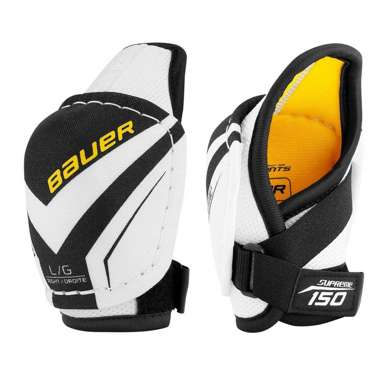Bauer Supreme 150 Youth Hockey Elbow Pads