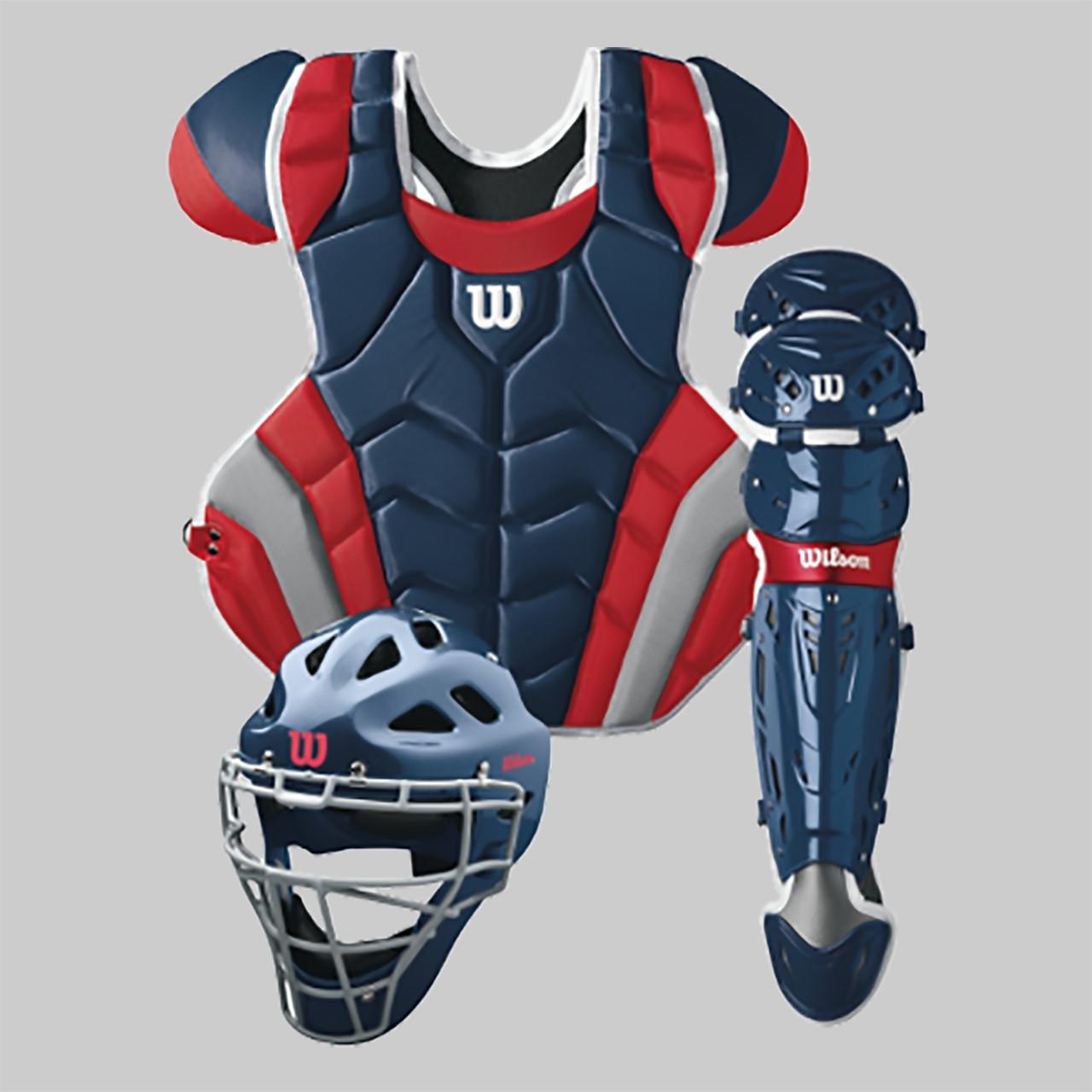 ... Wilson C1K Intermediate Baseball Catcher s Gear Kit  977626a3086e