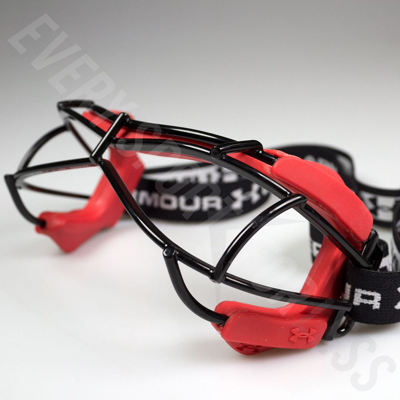 1a87b9450a ... Under Armour Illusion 2 Lacrosse   Field Hockey Goggles - Red ...