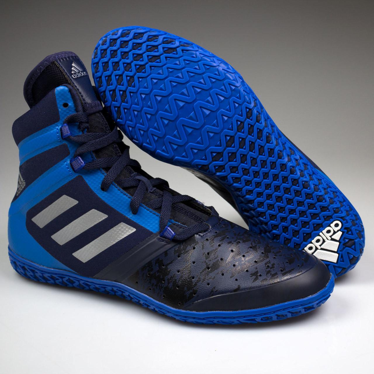 1e4d02c76e8 ... Adidas Impact Senior Wrestling Shoes AQ3318 - Navy