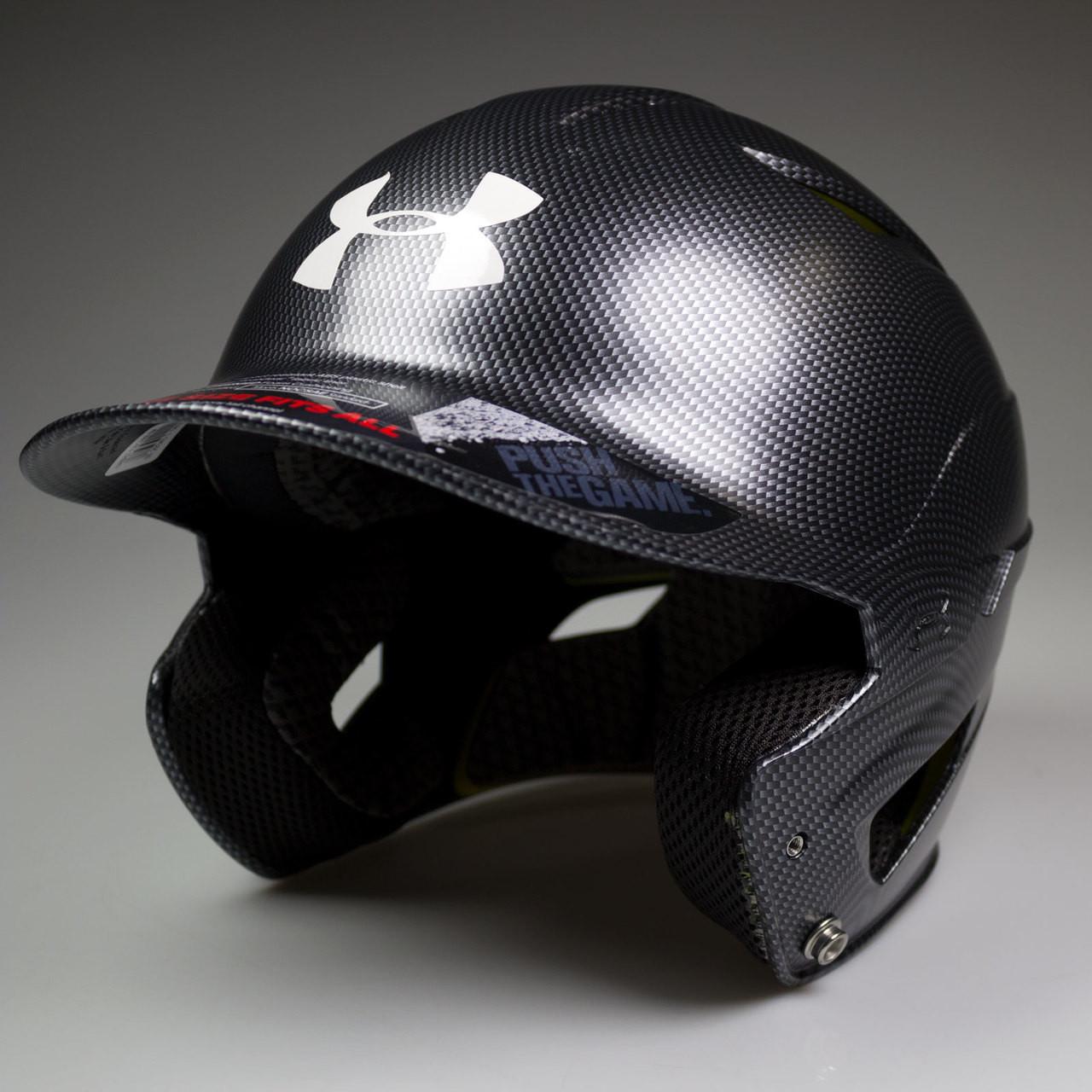 1d04294bc6b ... Under Armour Converge CarbonTech Senior Baseball Batting Helmet ...