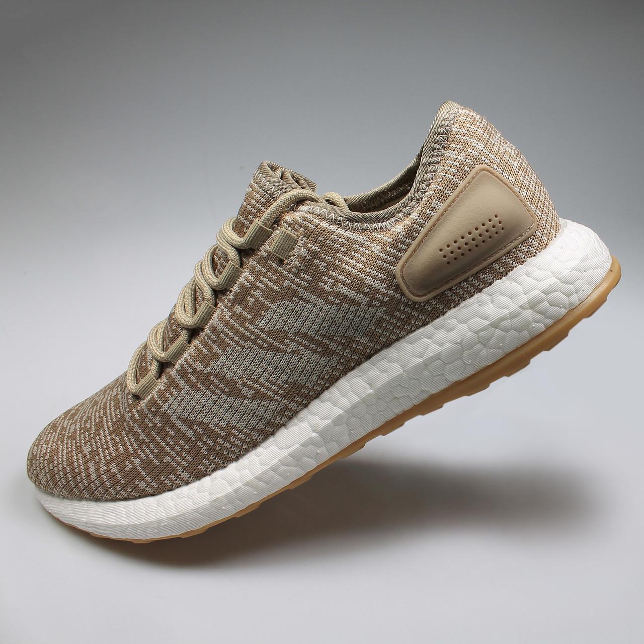 f7110c72a ... Adidas PureBOOST Mens Sneakers S81992 - Khaki