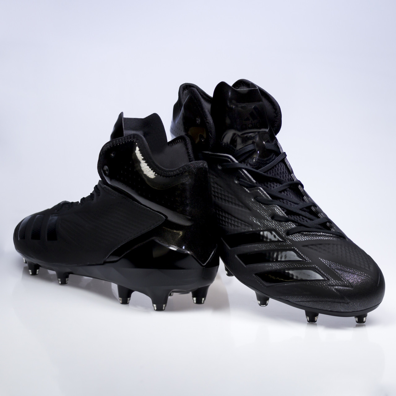 timeless design 41446 97d31 ... Adidas Adizero 5-Star 6.0 Mid Football  Lacrosse Mens Cleats BW0698  ...