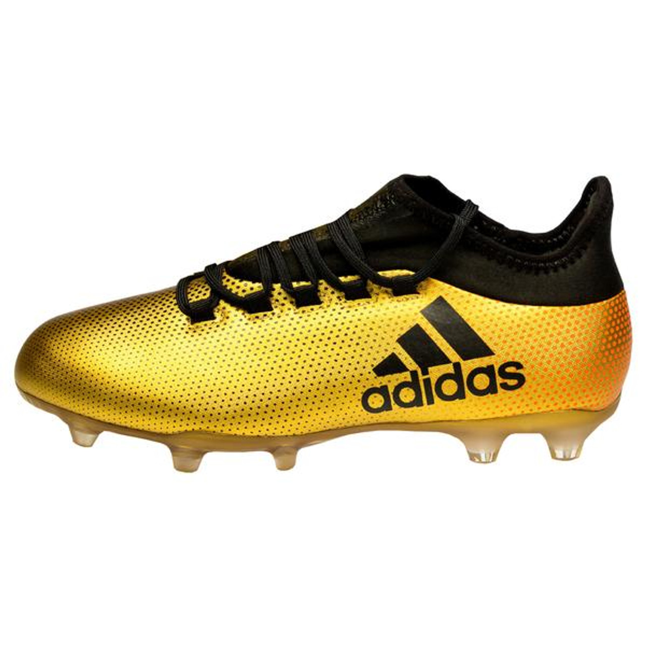 the latest 62ed9 70761 Adidas X 17.2 FG Mens Soccer Cleats CP9186 - Gold, Black, ...