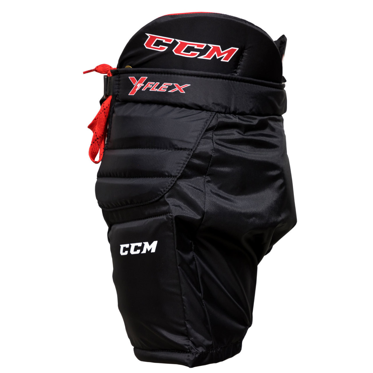 CCM YFlex Youth Hockey Goalie Pants - Black
