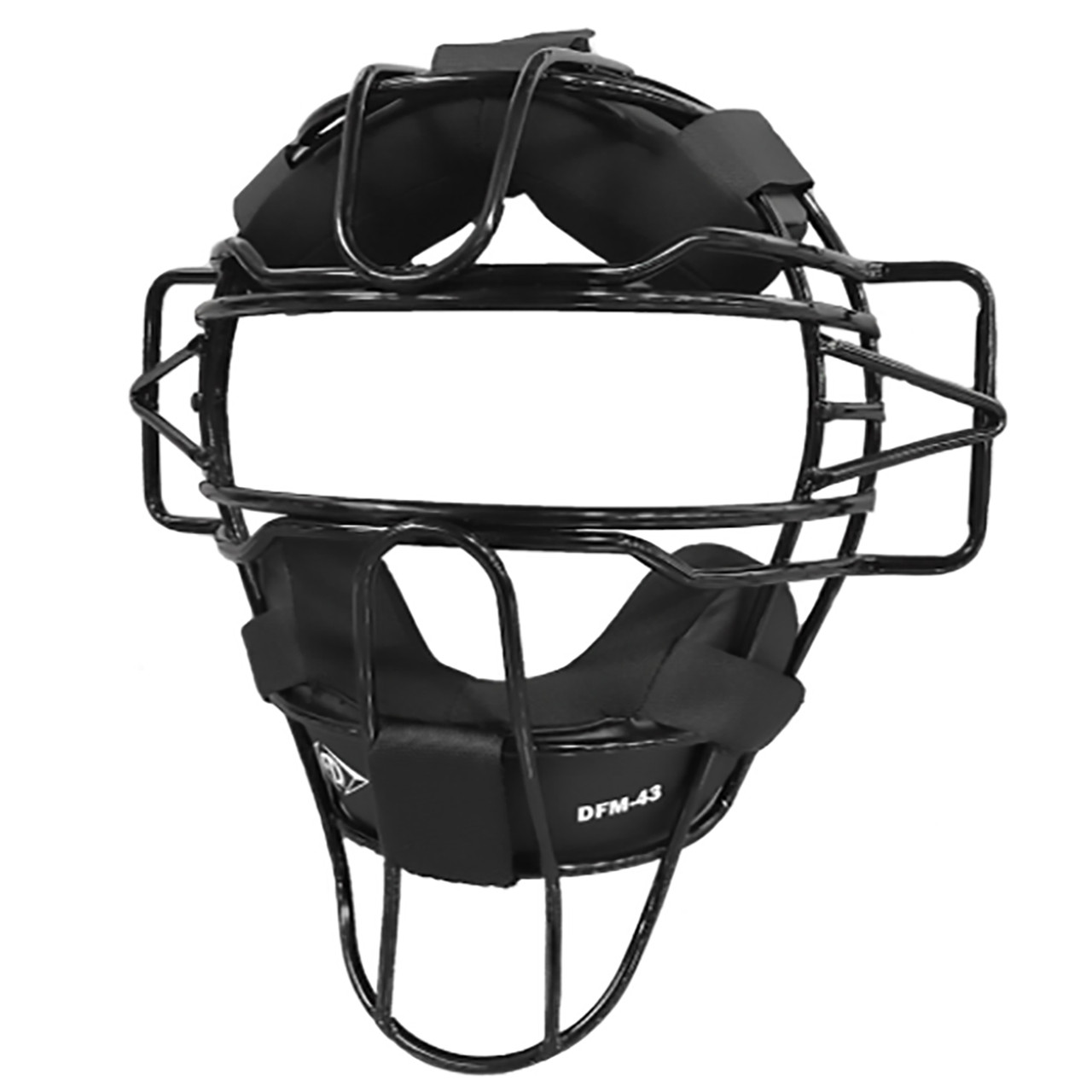 Diamond Standard Baseball Umpire Face Mask - Black