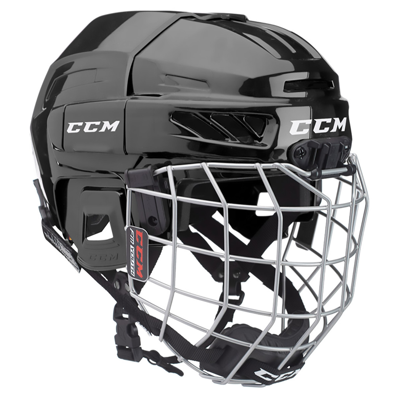 e2efd83669e CCM FitLite FL3DS Combo Junior Hockey Helmet - Various Colors ...