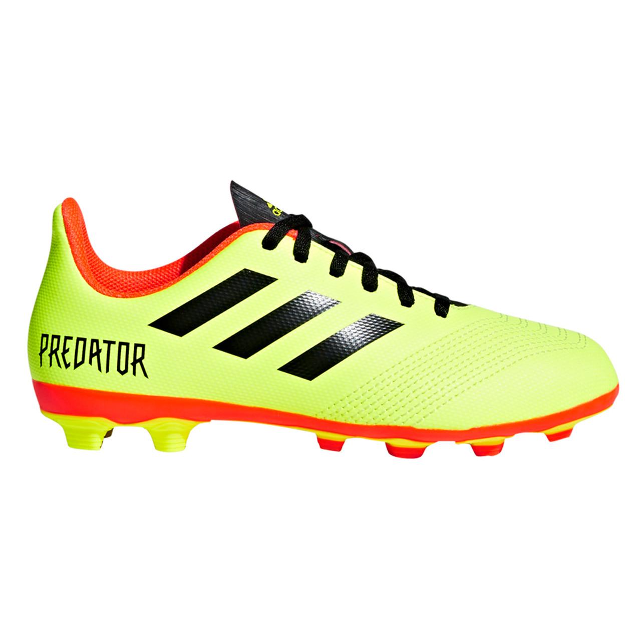a1396dfae6b Adidas Predator 18.4 FxG Junior Soccer Cleats DB2321 ...