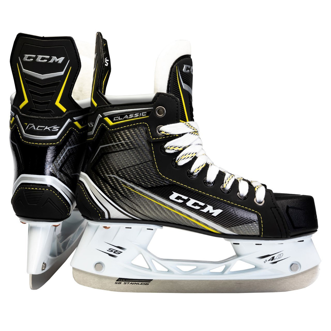 5626464922e CCM Tacks Classic 9060 SMU Senior Hockey Skates ...