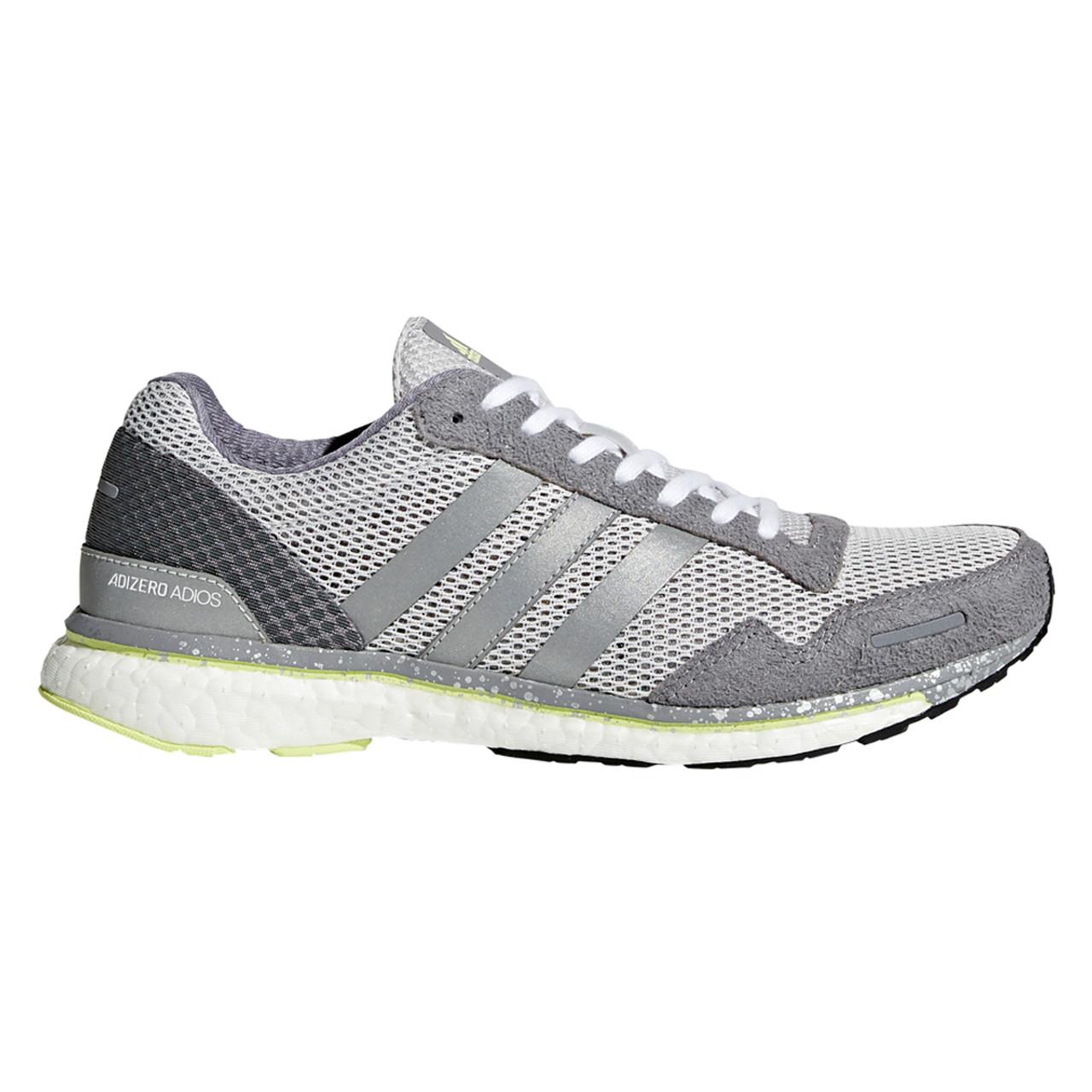 muy agradable conseguir barato alta moda Adidas Adizero Adios 3 Womens Sneakers BB6410 - Silver
