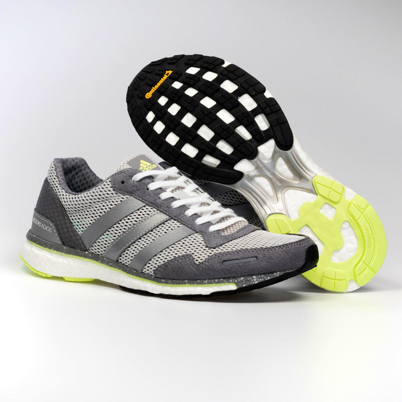 online store 9e9f7 0450f ... Adidas Adizero Adios 3 Womens Sneakers BB6410 - Silver ...
