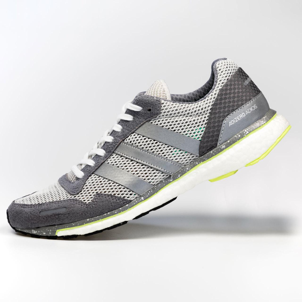 270999c66eeb ... Adidas Adizero Adios 3 Womens Sneakers BB6410 - Silver ...