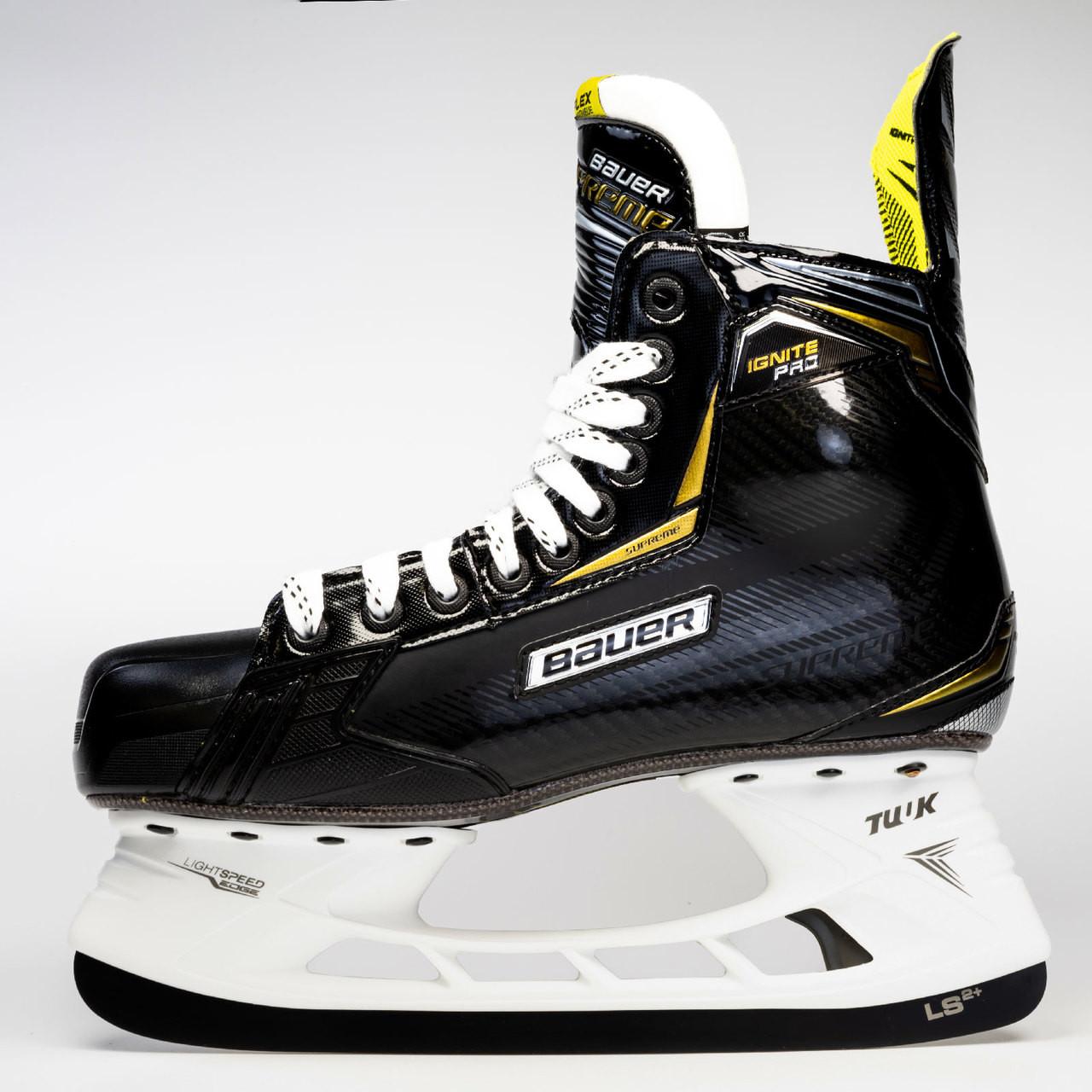 f8328134f6f ... Bauer S18 Supreme Ignite Pro SMU Senior Hockey Skates ...