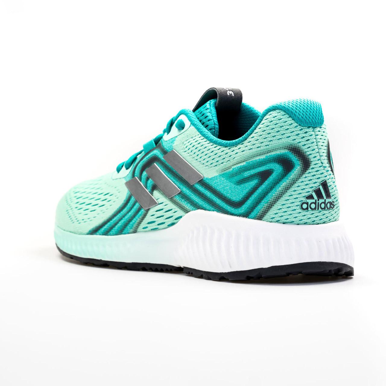 new style bf89b 696c5 ... Adidas Aerobounce Womens Sneakers AQ0538 - Aqua, Silver ...