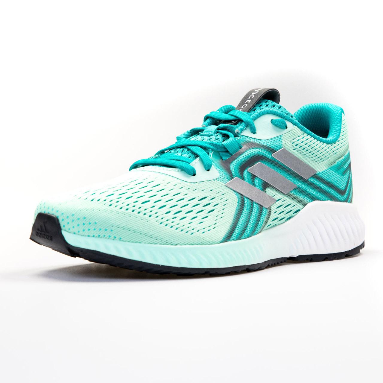 new style 5f4e5 19c8c ... Adidas Aerobounce Womens Sneakers AQ0538 - Aqua, Silver ...