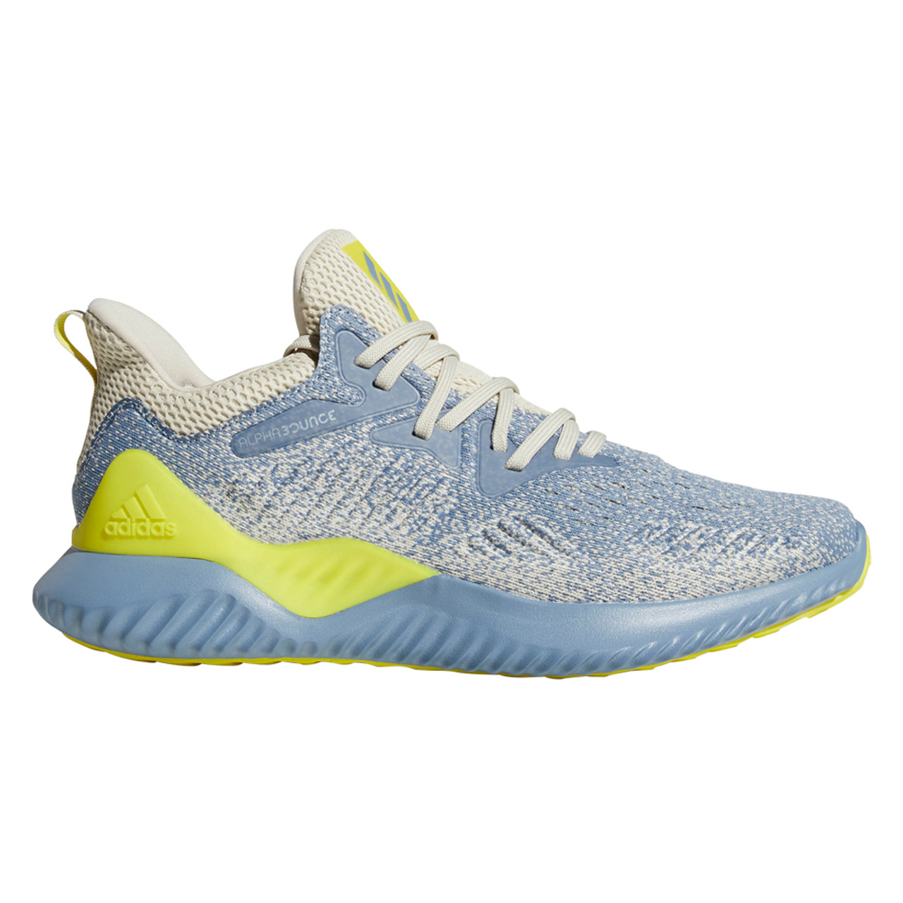 huge discount 21a82 4d2ae Adidas Alphabounce Beyond Men's Sneakers AQ0576 - Steel, Yellow