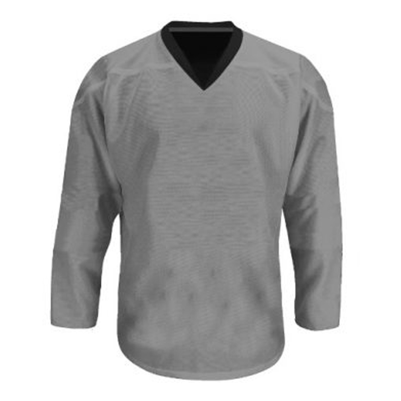 buy online c9a53 f8e9b Troy Hockey Reversible Senior Hockey Jersey - Black, Silver