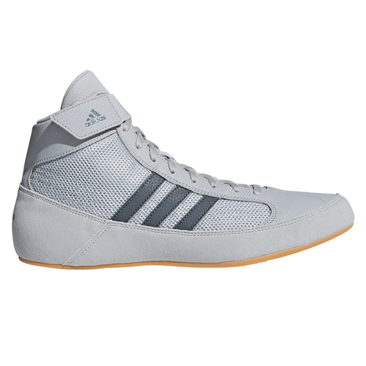 Adidas HVC 2 Senior Adult Wrestling Shoes AC7502 Gray