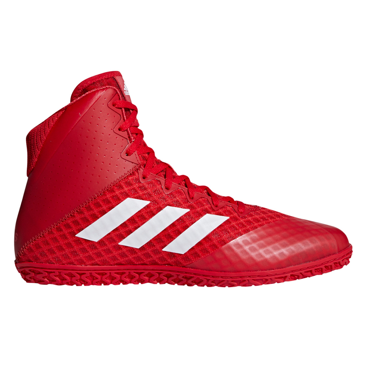 8ff1c53e42c9a9 Adidas Mat Wizard 4 Men s Wrestling Shoes AC6972 - Red