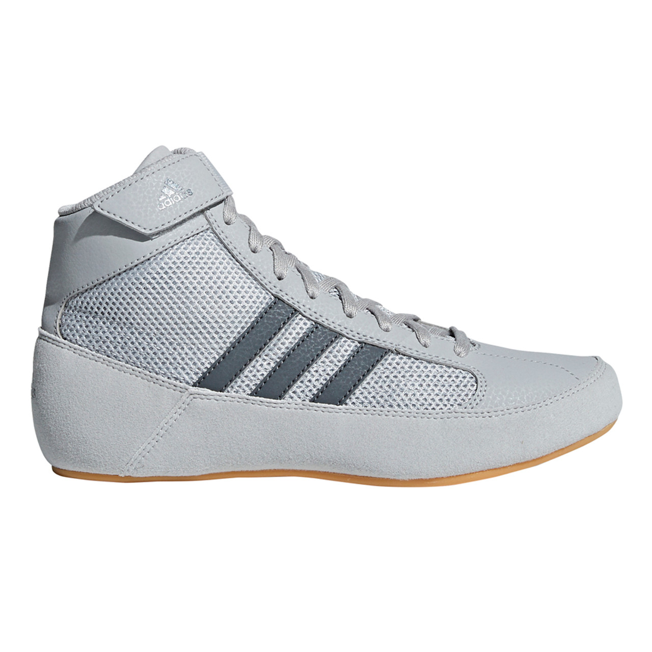 new arrival 2870f e281b Adidas HVC 2 Youth Wrestling Shoes AC7503 - Gray