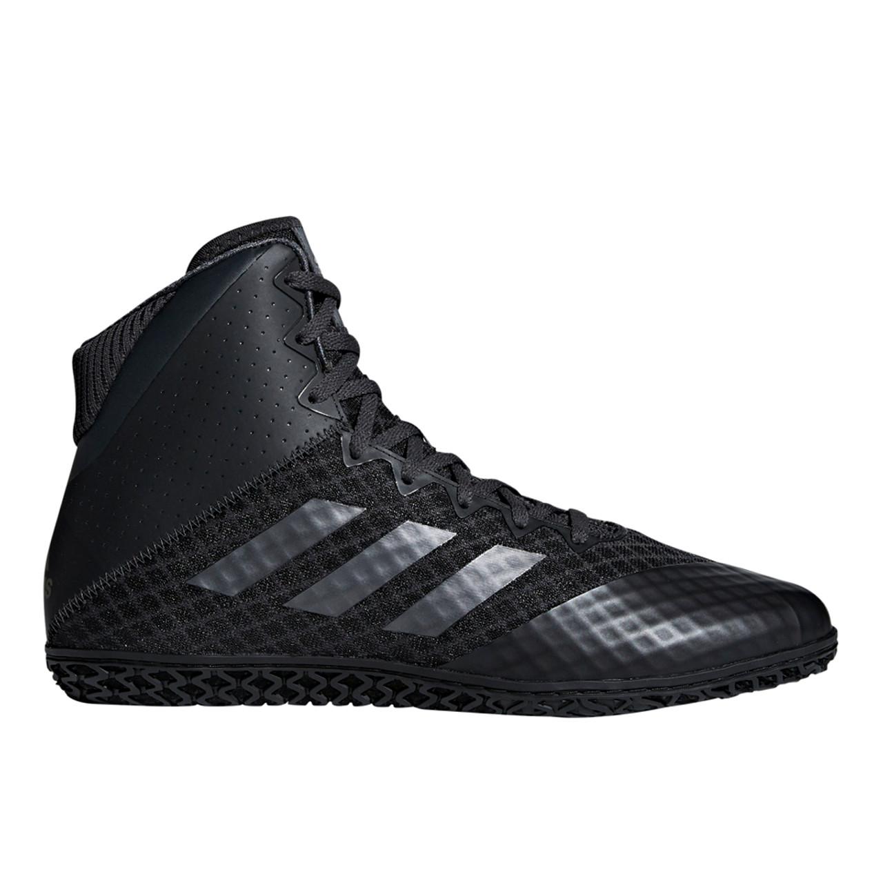 b3c6cac7 Adidas Mat Wizard 4 Men's Wrestling Shoes AC6971 - Carbon, Black