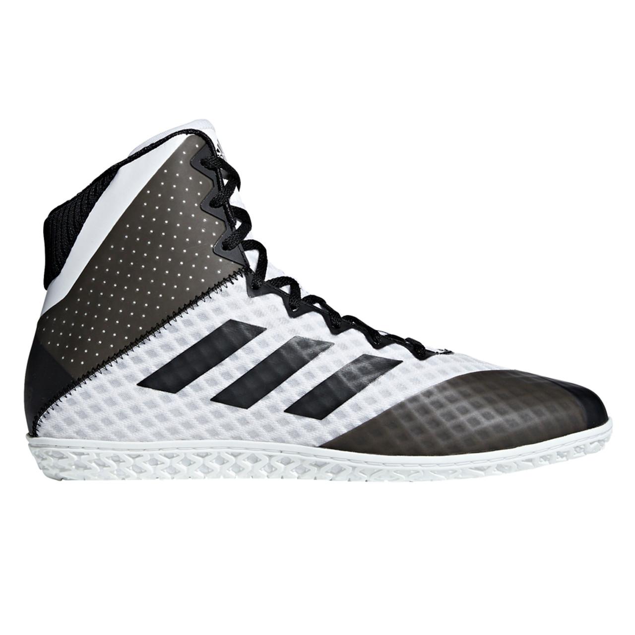 adidas Mat Wizard 4 Wrestling Shoes Schwarz Schwarz