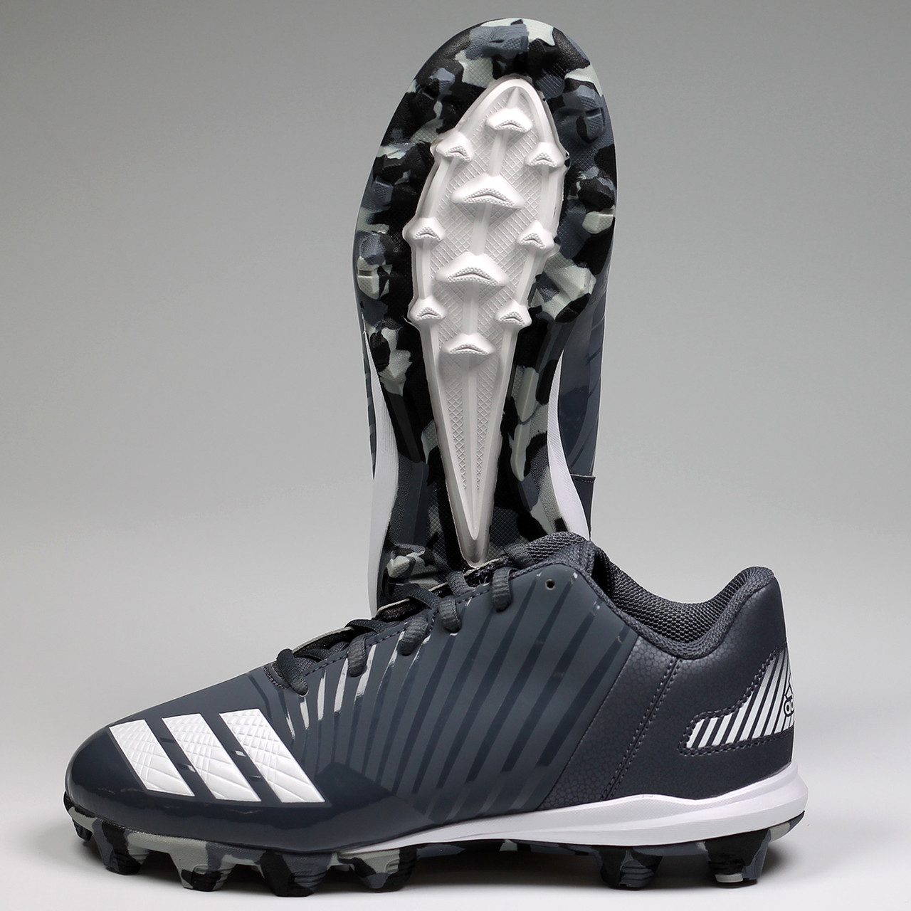 ... Adidas Icon MD Youth Baseball Cleats B39228 - Onyx bde407b05dc
