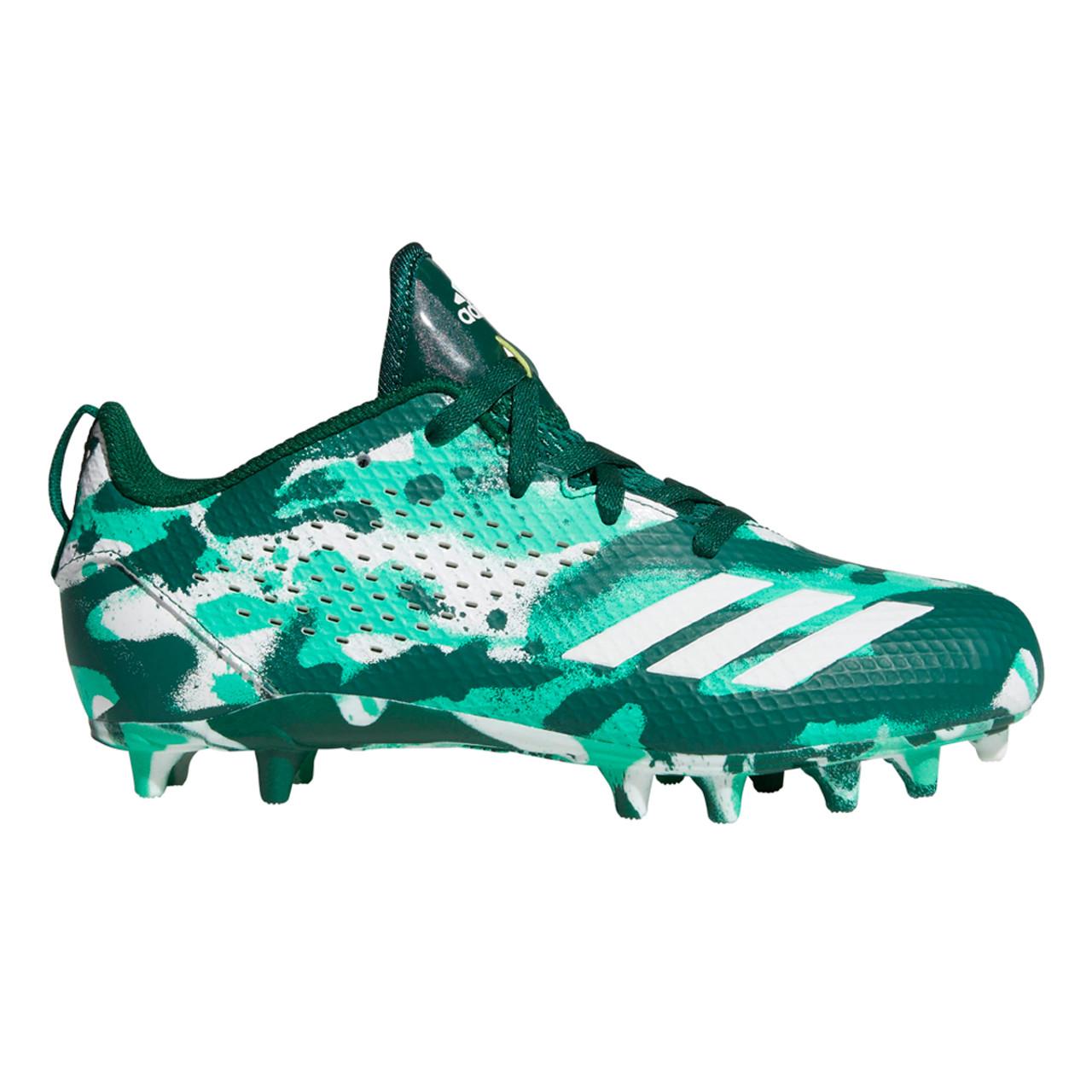 6c1e3ccd0 Adidas Adizero 5 Star 7.0 Cleats   Green \u0026 White Football Cleats;