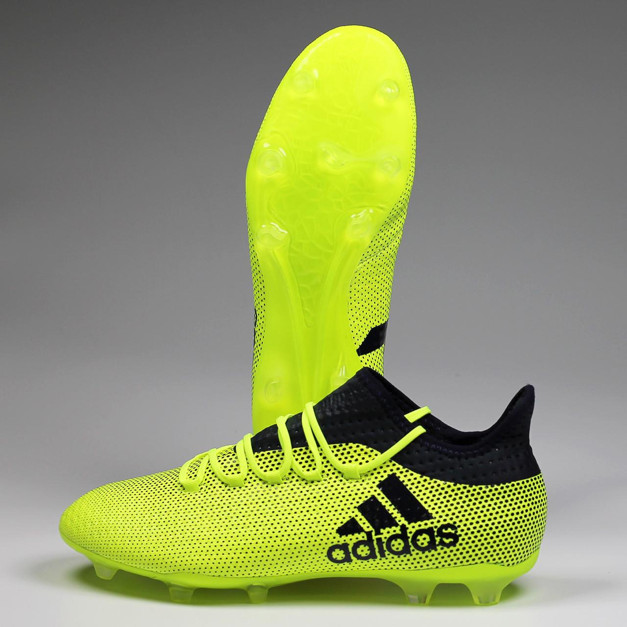 size 40 6c2eb 4fce8 Adidas X 17.2 FG Men's Soccer Cleats S82325 - Yellow