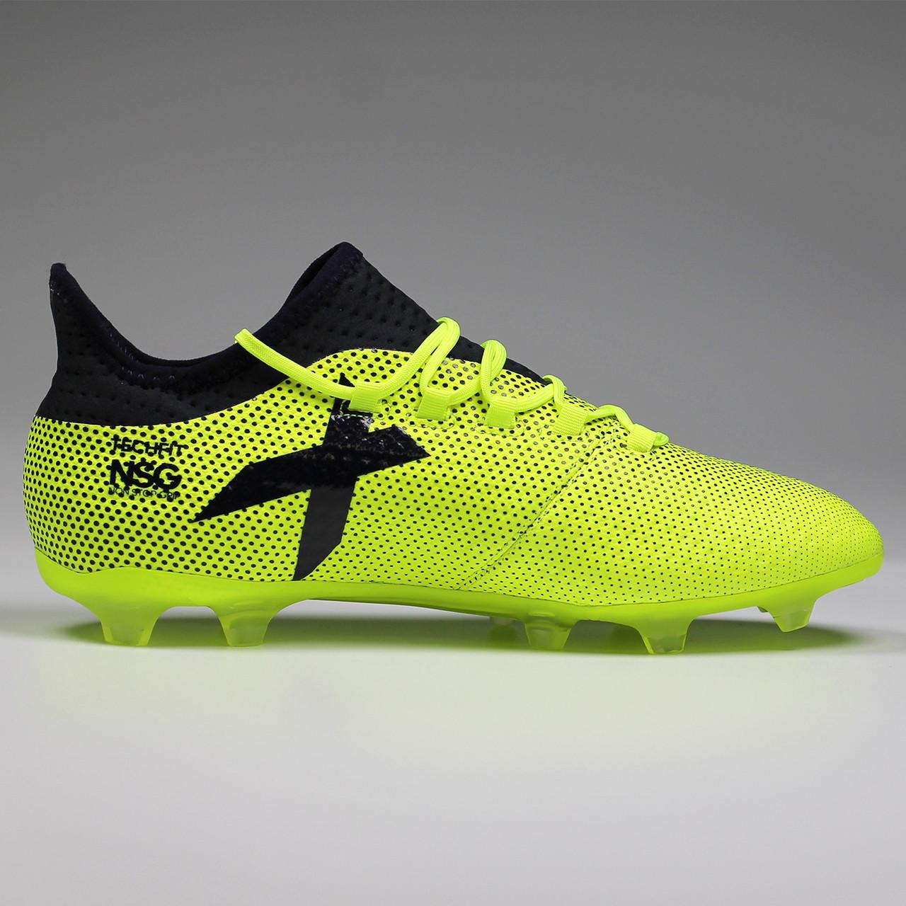 2b06da56301f Adidas X 17.2 FG Men's Soccer Cleats S82325 - Yellow