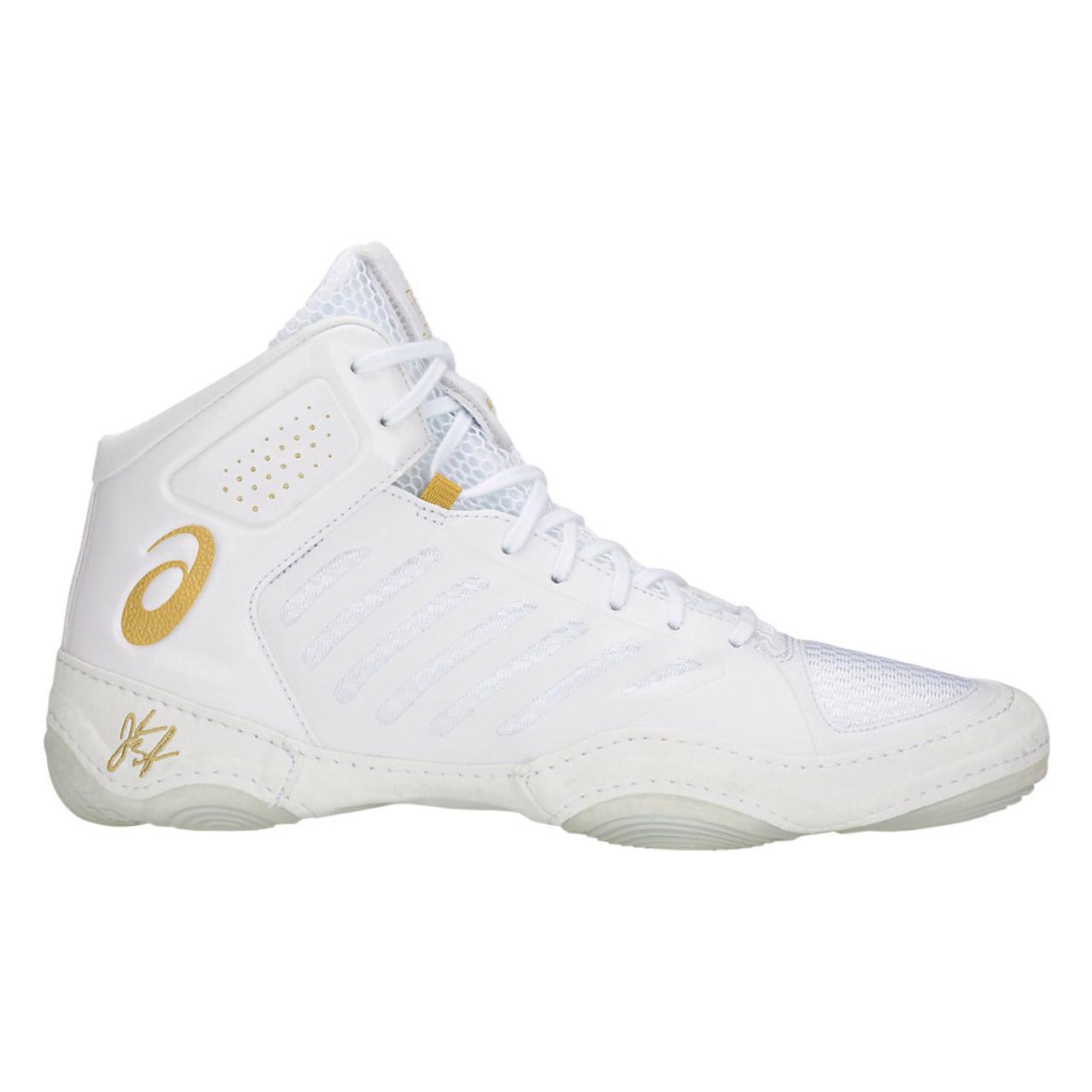 fa9cdbf5e81439 Asics JB Elite III Men s Westling Shoes - White