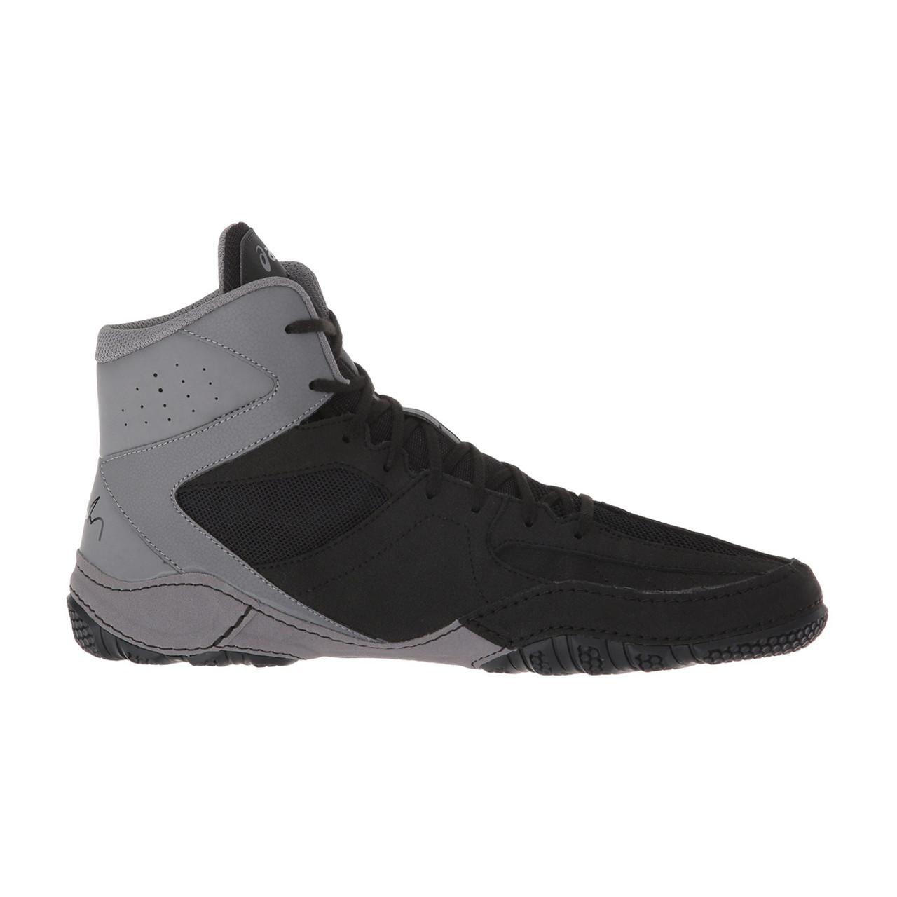 7d7cfdc791 Asics Mat Control Men's Wrestling Shoes - Black, Gray