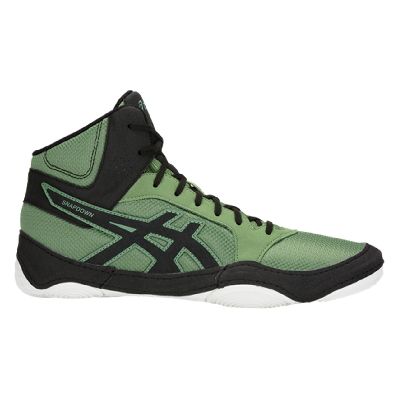 meet 317a0 0143d Asics Snapdown 2 Men s Wrestling Shoes - Green, Black