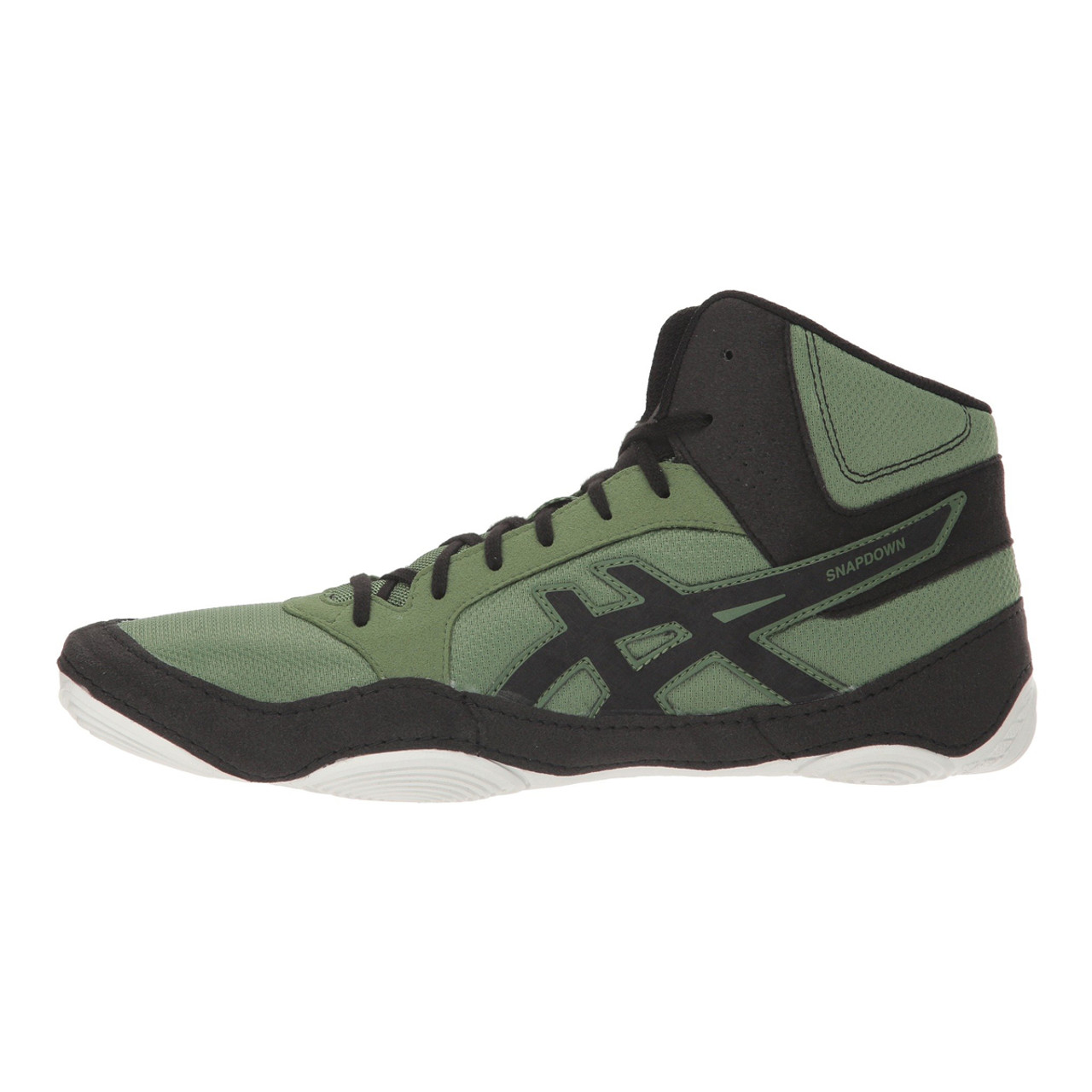 double coupon kid top-rated newest Asics Snapdown 2 Adult Wrestling Shoes - Green, Black