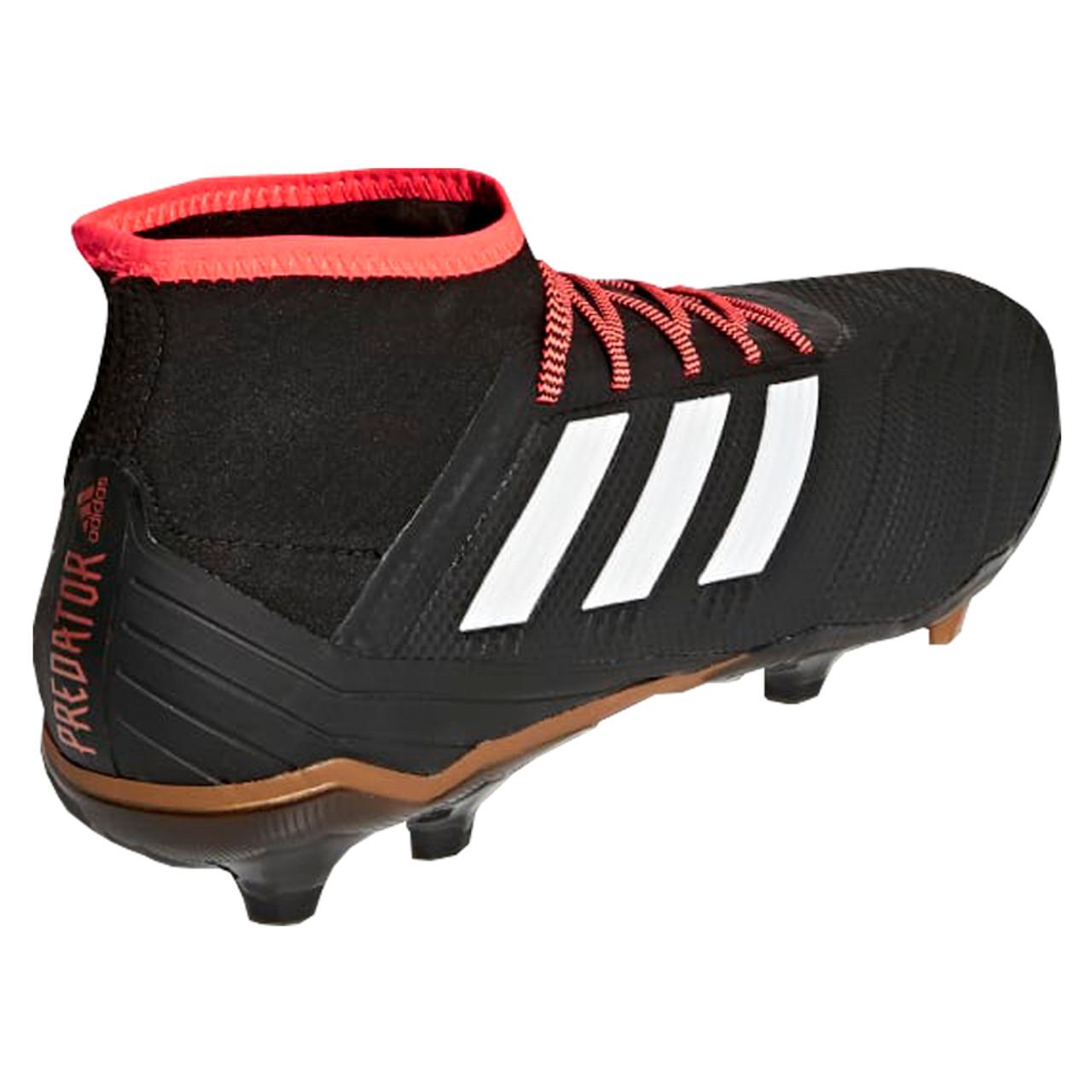 25dc55edd12 Adidas Predator 18.2 FG Men s Soccer Cleats CP9290 - Black