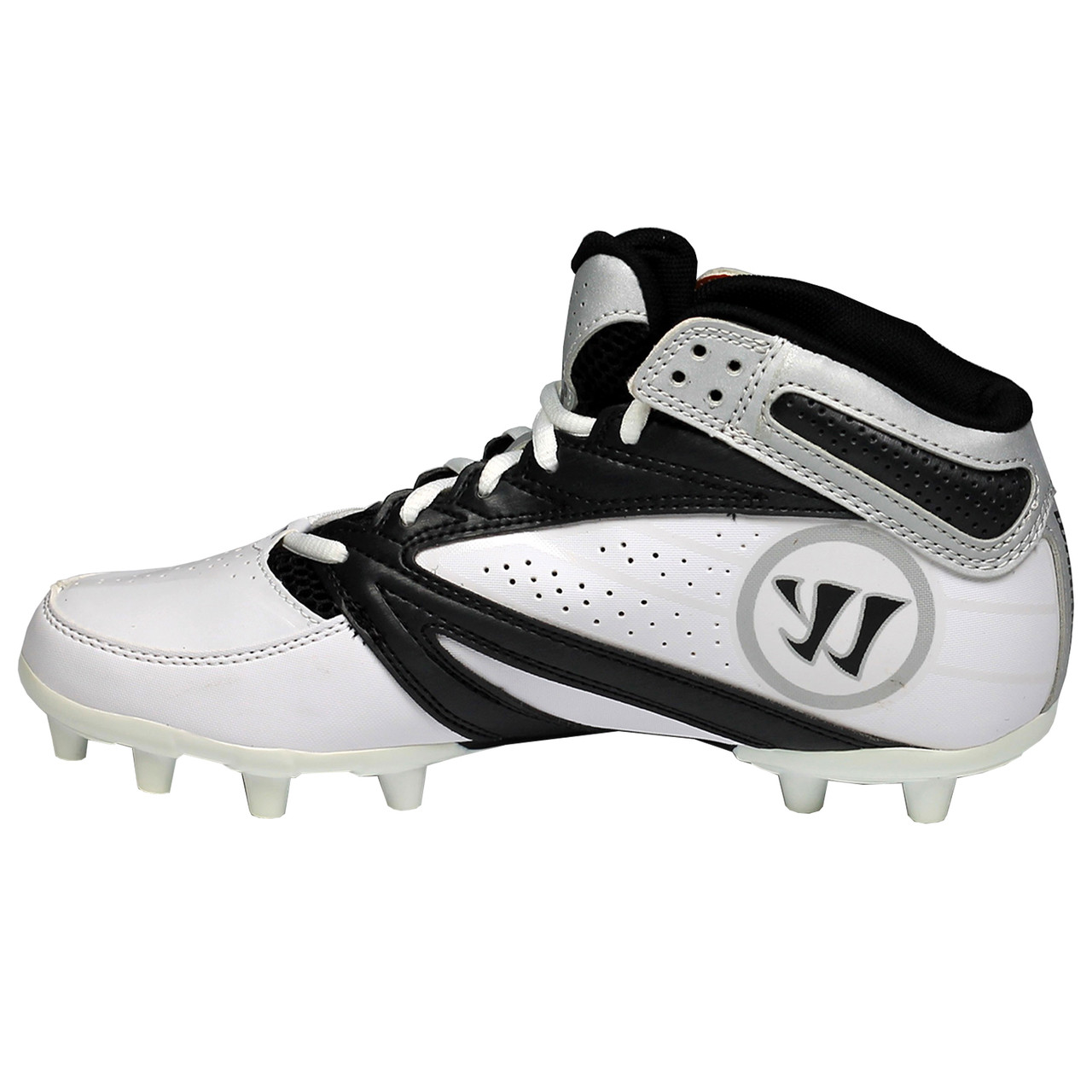 54bcda829 Warrior 2nd Degree Senior Lacrosse Cleats - White