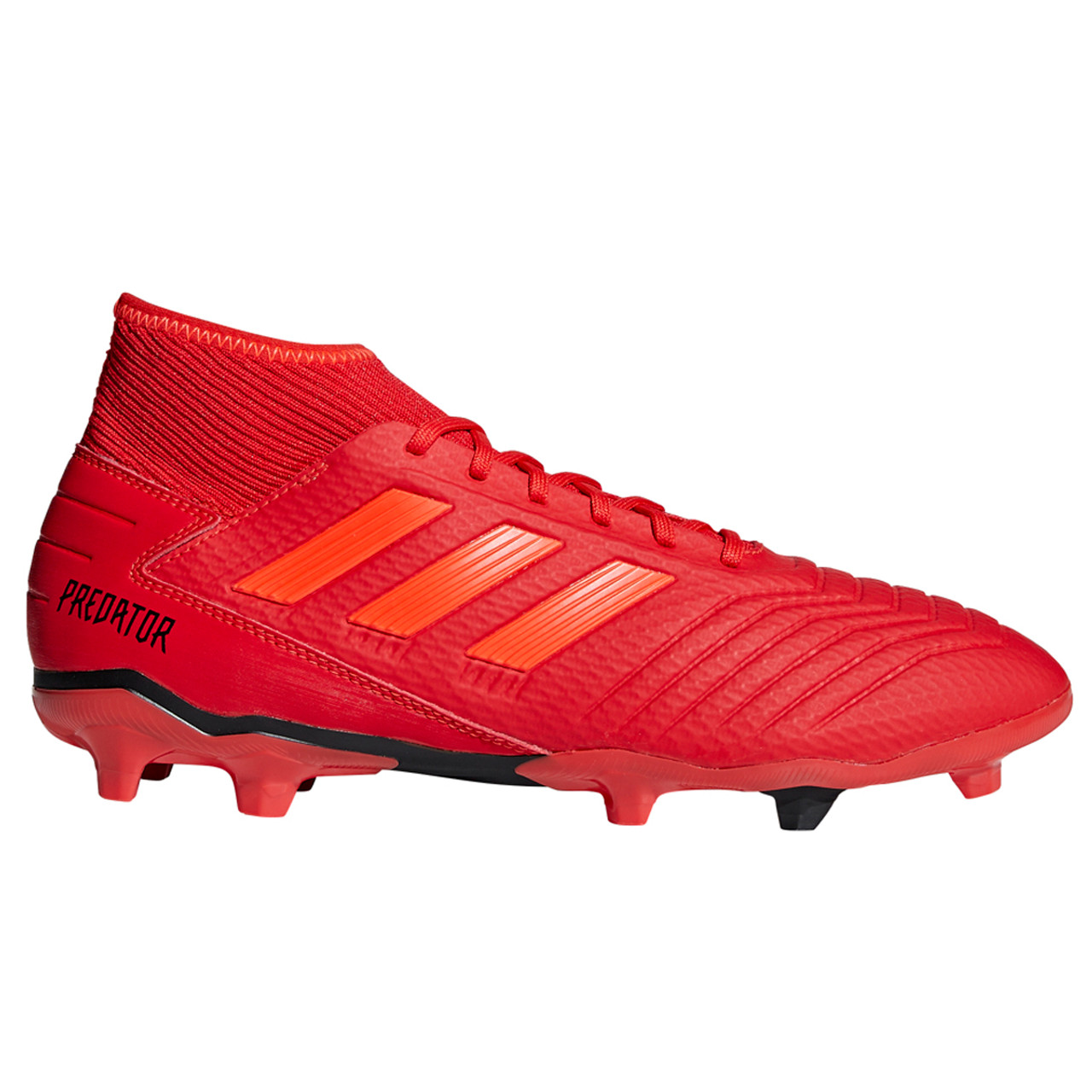 7f2fd0f56 Adidas Predator 19.3 FG Men s Soccer Cleats BB9334 - Red ...
