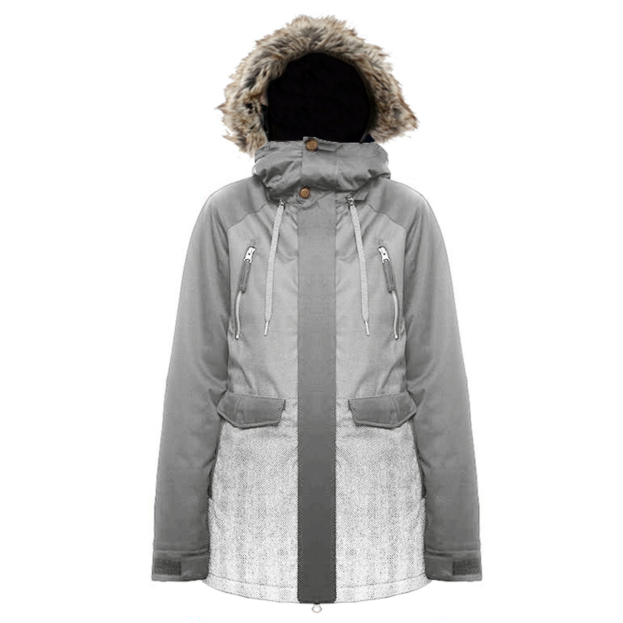 356b0575 ... Pulse Absinthe Insulated Board Women's Snowboard Jacket - Various Colors