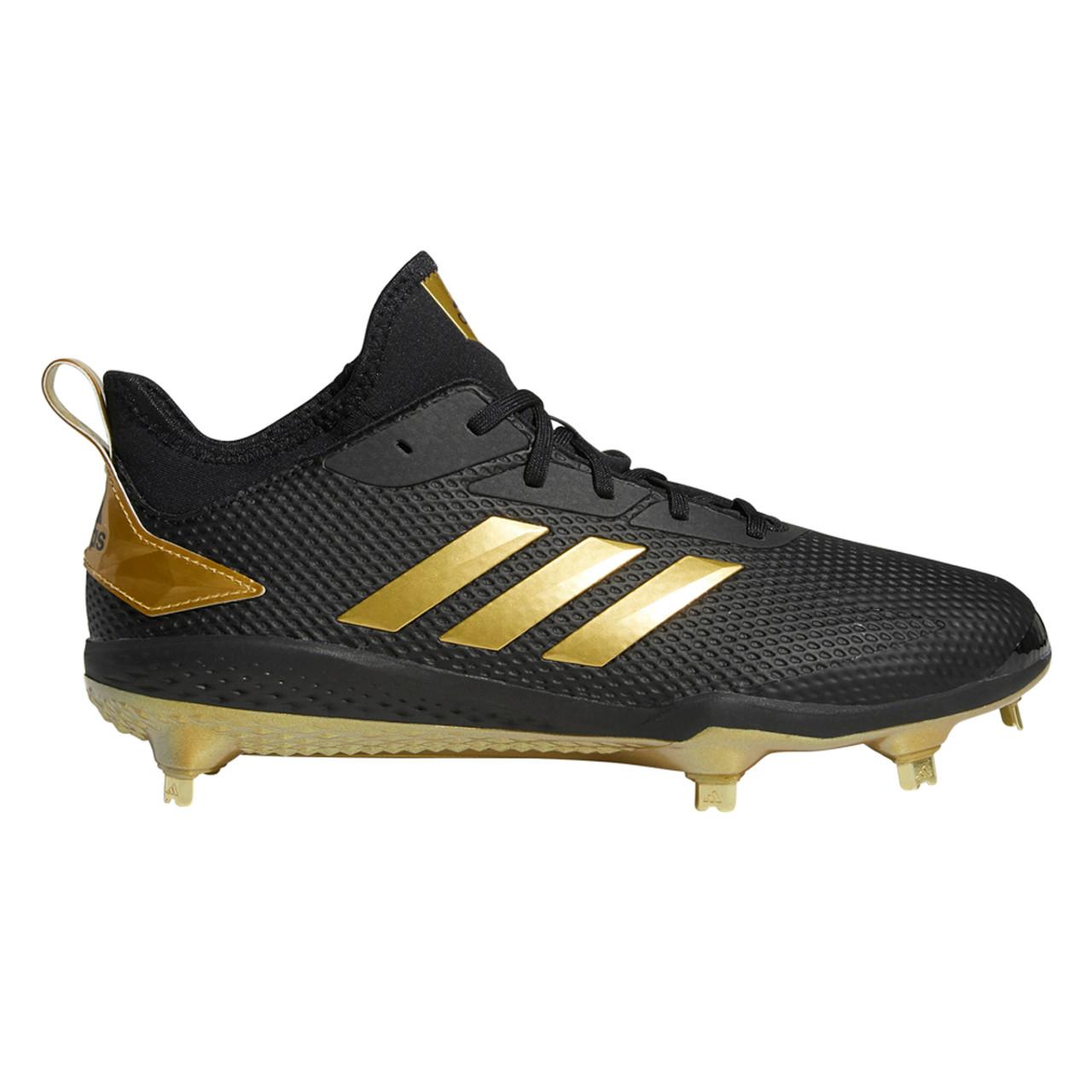 Adidas Afterburner V Black And Gold