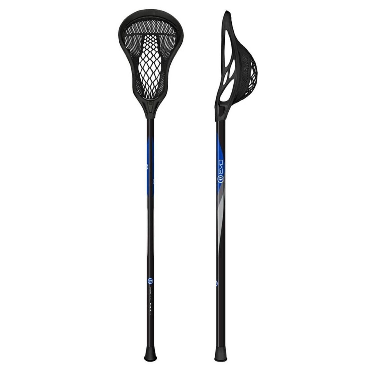 8fc08fe4505 Warrior Evo Warp Next Junior Lacrosse Attack Stick - Various Colors ...