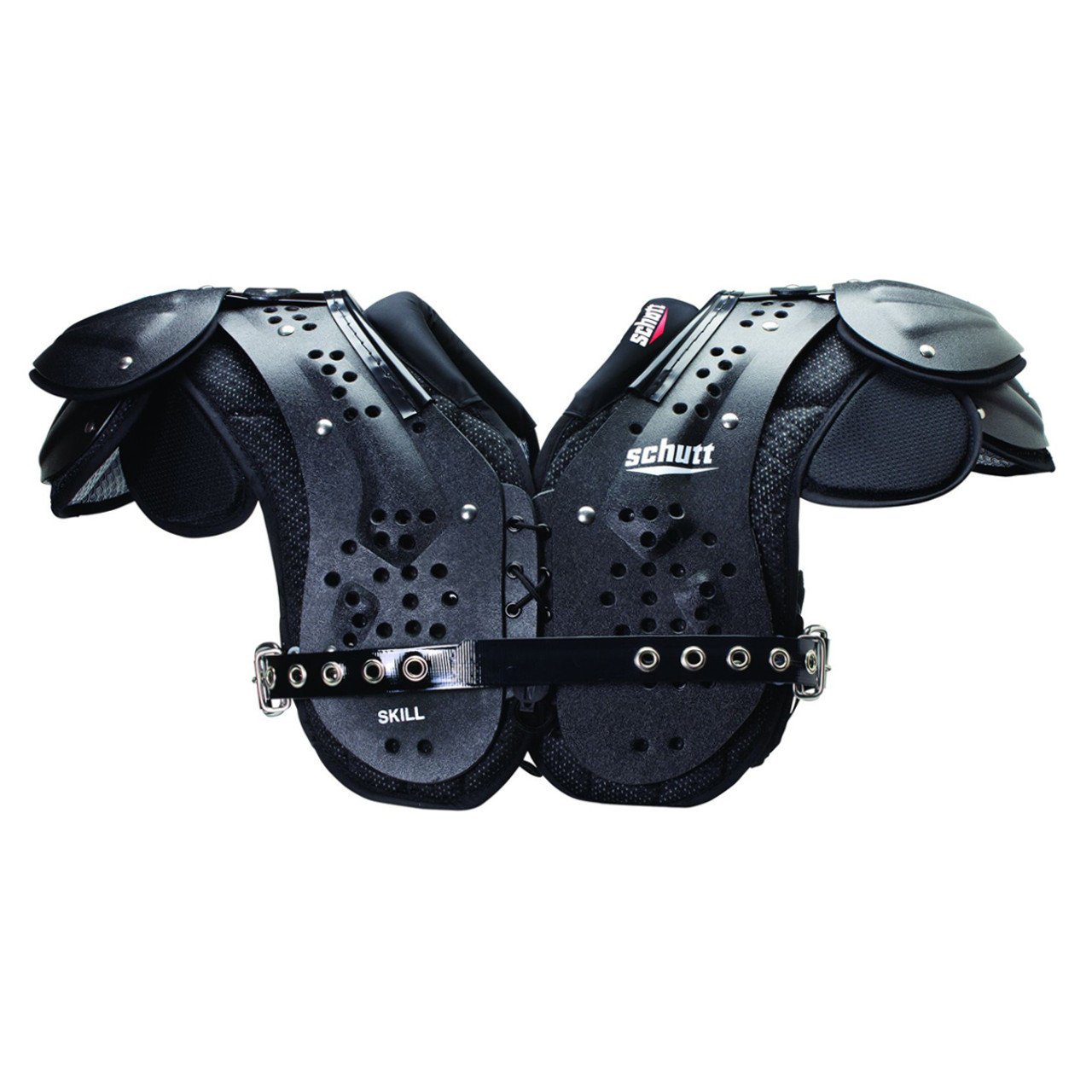 a3351f84a8b Schutt Varsity Flex 4.0 Skills Football Shoulder Pads - Black ...