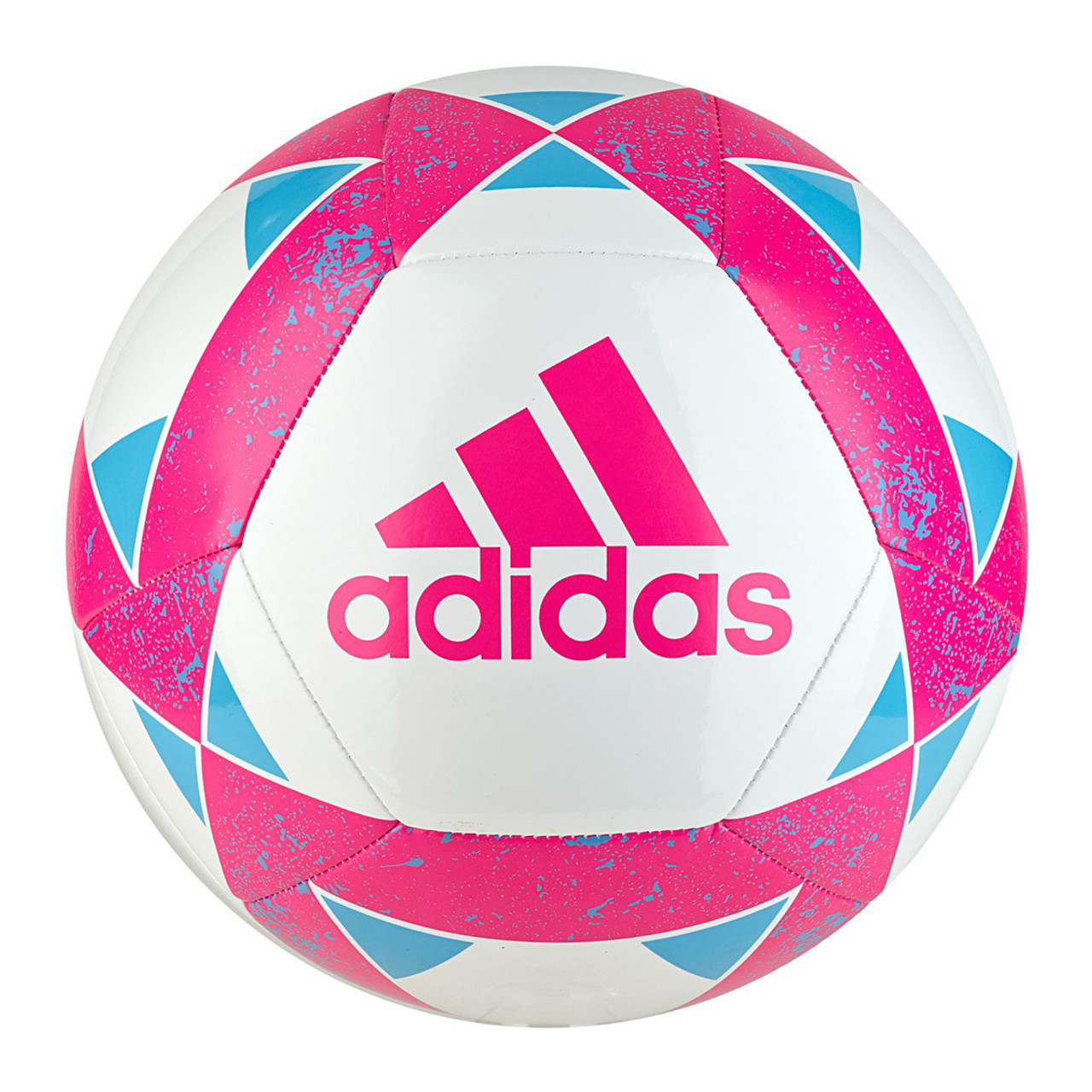 6cb8c81b13636 Adidas Starlancer V Youth Soccer Ball CZ9552 - White