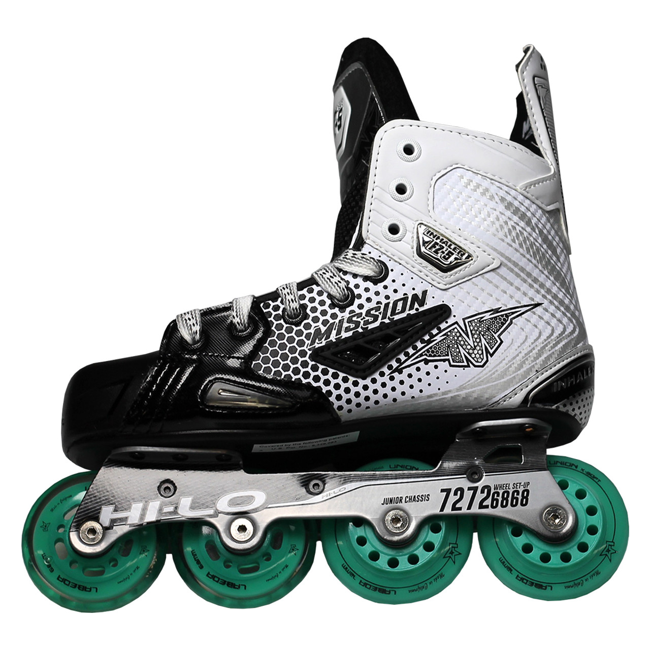 Mission Inhaler FZ-5 Junior Inline / Roller Hockey Skates - E Width